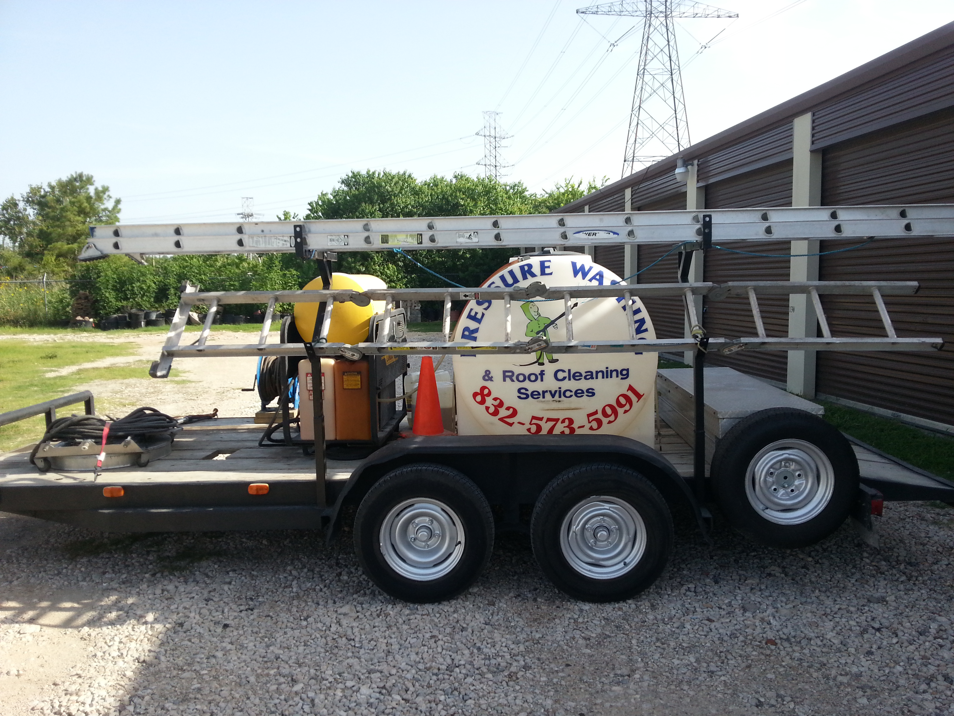 Dayton Pressure Washing Trailer